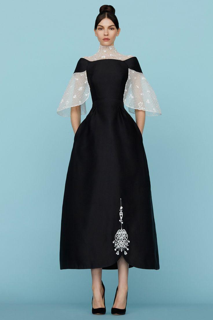 by Ulyana Sergeenko.  glamorous and feminine, bold and beautiful.