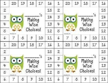 Best Classroom Owl Themed Images On Pinterest Classroom - Free editable punch card template