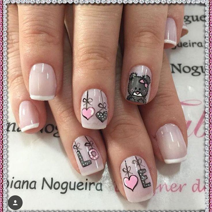 """415 Likes, 2 Comments - Inspirações para as unhas (@keycacau) on Instagram: """"@paolapenteado_unhas #unhasdecoradas #unhaskeycacau #nailart #unhasdediva #joiasdeunhas"""""""