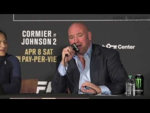 MMA Dana White sees Floyd Mayweather fight happening for Conor McGregor: 'I can't deny him this fight'