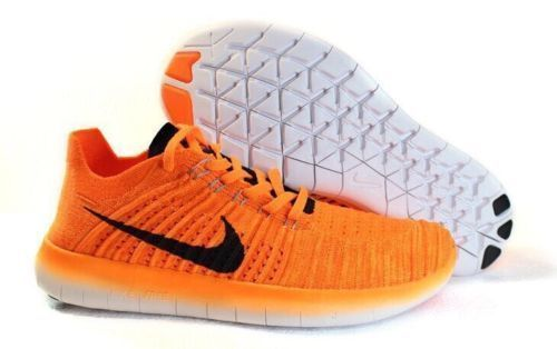 Nike Flyknit 5.0 Orange Basketball Shoes Football Shoes Athletic Sneakers !!! #Nike #AthleticSneakers
