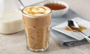 Karamelli Buzlu Kahve