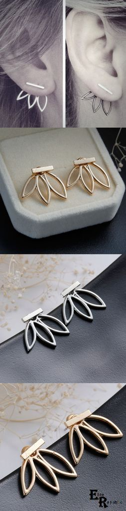 Hollow Flower Earrings