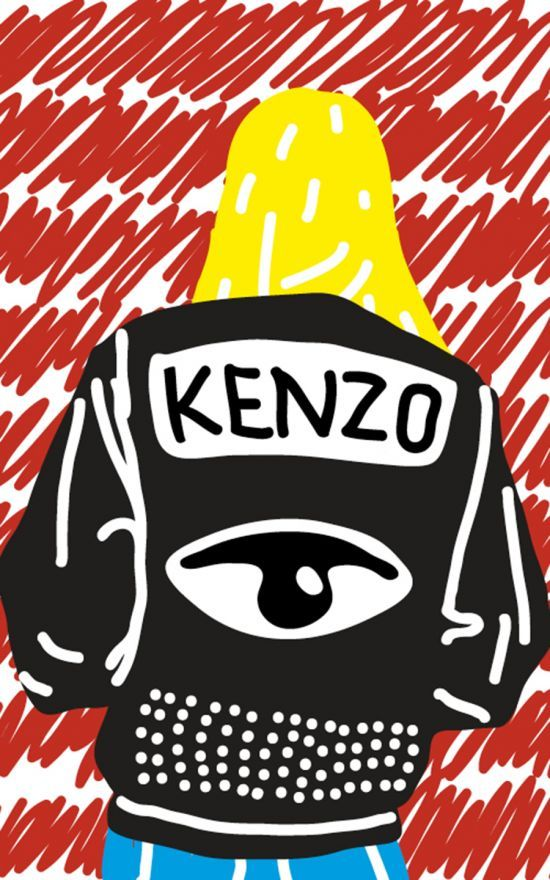 Kenzo Paris by Toni Halonen #illustraion