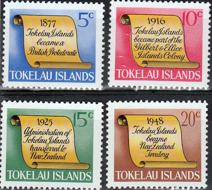 Tokelau 1969 History Set Fine Mint SG 16 9 Scott 16 9 Other British Commonwealth Stamps Here