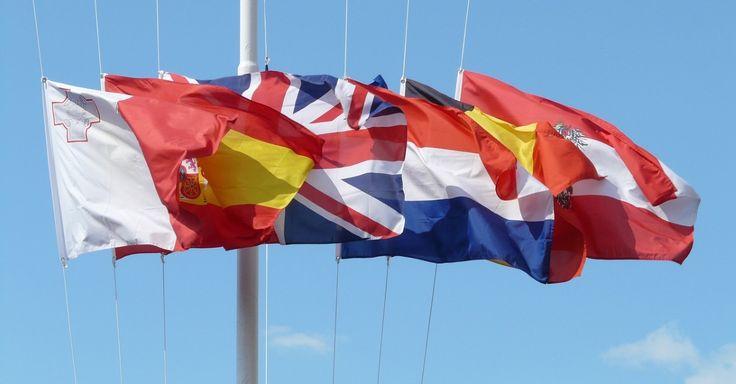 Flaggen auf dem #namensschild - perfekt für das internationale Geschäft! #brilliantbadges