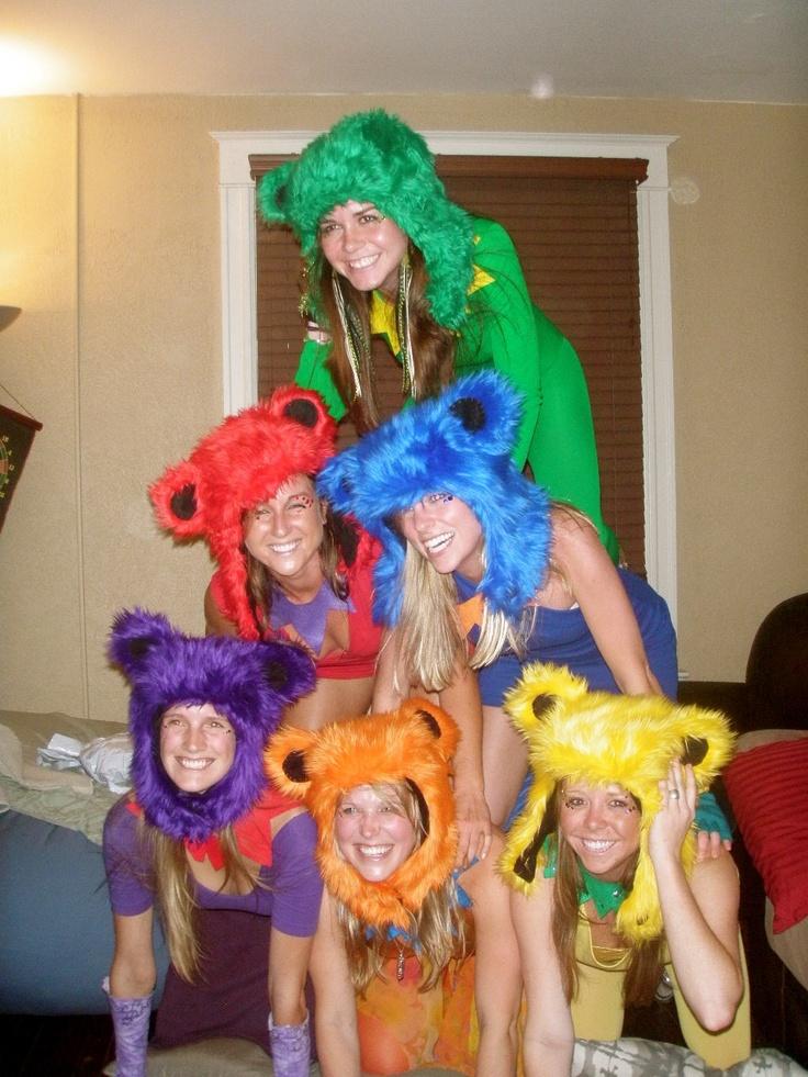 Grateful dead dancing bears!!: Bears Hats, Halloween Ideaaa, Costume Ideas, Bears Hoods, Cute Ideas, Bears Costumes, Sweet Costumes, Dead Bears, Costumes Ideas