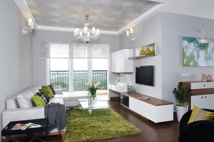 Living Room - Skyline Ivy League          SAVIO and RUPA Interior Concepts Bangalore | professional apartment interior designers Bangalore | Modern villa Interior Designers | Residential Interior Designs