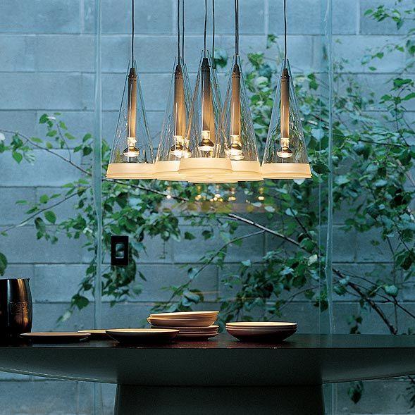 Fucsia: Discover the Flos suspended lamp model Fucsia
