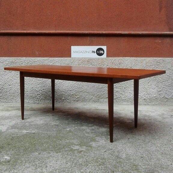 tavolino da caffè in teak  Danese Misura massima 150x50x50h 1960 #magazzino76 #viapadova #Milano #nolo #viapadova76 #M76 #modernariato #vintage  #furnituredesign #furniture #mobili #anni60 #modernfurniture  #coffeetable #antiquariatoviapadova #vintageviapadova #nolovintage #antiquariatonolo #modernariatoviapadova #modernariatonolo #nolodesign #designnolo #designviapadova  #perfettamenteconservato #solocoseoriginali #compromodernariato #acquistodesign #comprodesign #acquistomodernariato