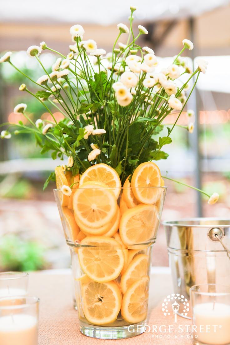 Best ideas about lemon centerpieces on pinterest