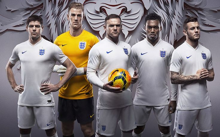 England kit: World Cup 2014 My home team....  England :)