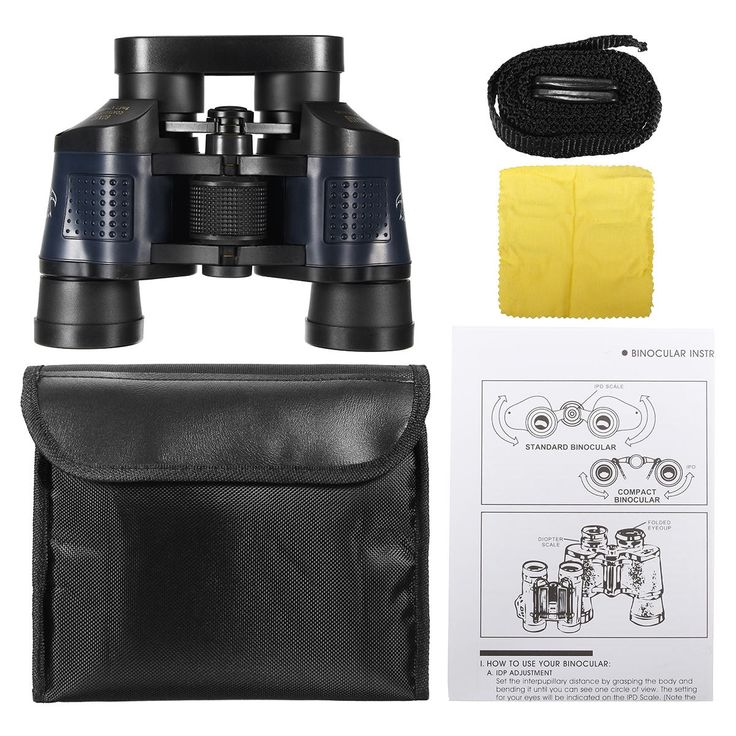 60x60 Optical Binocular Low Light Level Night Vision Telescope HD High Clarity 3000M Sale - Banggood.com
