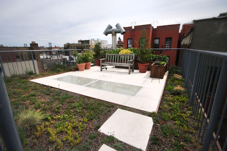 Brook Landscape - Green Roof & Terrace Garden, East Village - East Village 05