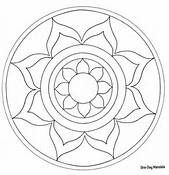 Easy level Printable Mandala Coloring Pages - Bing Images