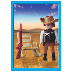 Playmobil 1-9300 Sheriff_Antex Argentina // Not available - Shipping worldwide