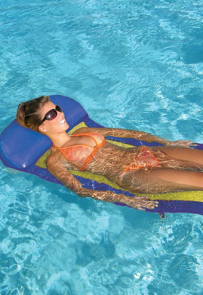 Hammock Water Lounge Pool Float