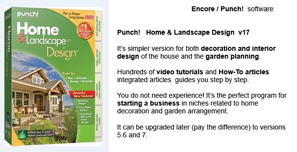17 best images about encore punch 3d home landscape - Best home and landscape design software ...