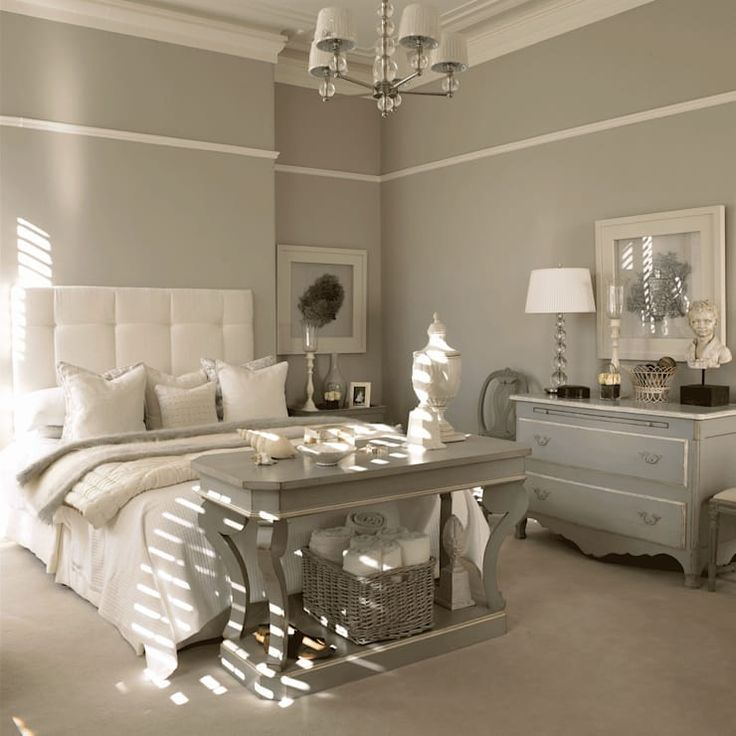 The perfect colors for the bedroom