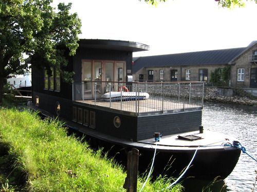 Best Float HousesHouseboats Images On Pinterest Boat House - Awesome floating house shore vista boat dock by bercy chen studio