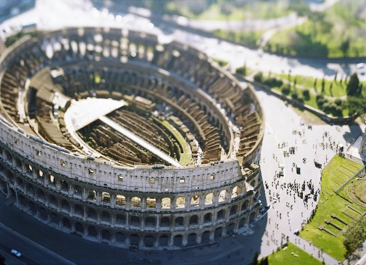 Olivo Barbieri Photography: Tilt-Shift Cities in Site Specific | New Republic