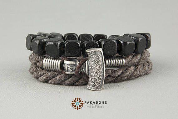 Mjolnir Bracelet Wristband With Thor's Hammer Viking's