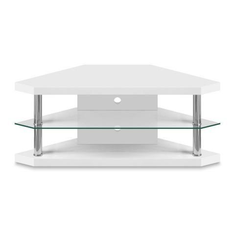 low priced d90b9 b5da8 White Gloss Corner Tv Stand | Design Concepts | White tv ...