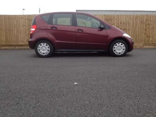 Used 2007 (57 reg) Red Mercedes-Benz A Class A150 Classic SE 5dr for sale on RAC Cars