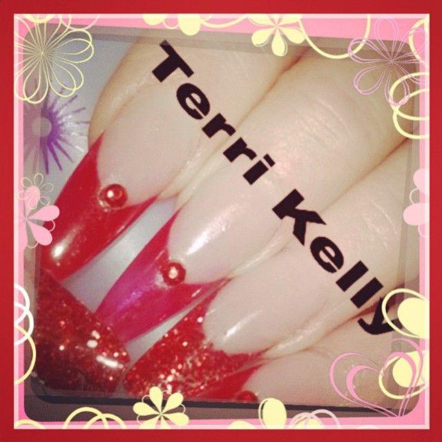 #acrylic #acrylicnails #acrylicnailswag #nailswag #nailstagram #nailsofinstagram #nailsoftheday #nailsaddict #nailspiration #instanail #frenchstiletto #coverpink #astonishnails #asu #naionails #naionailsuk #naio #geltopcoat #ibdtopcoat