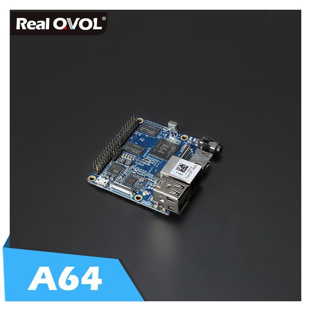RealQvol Friendlyarm NanoPi A64 Development Board 64-bit Quad-core