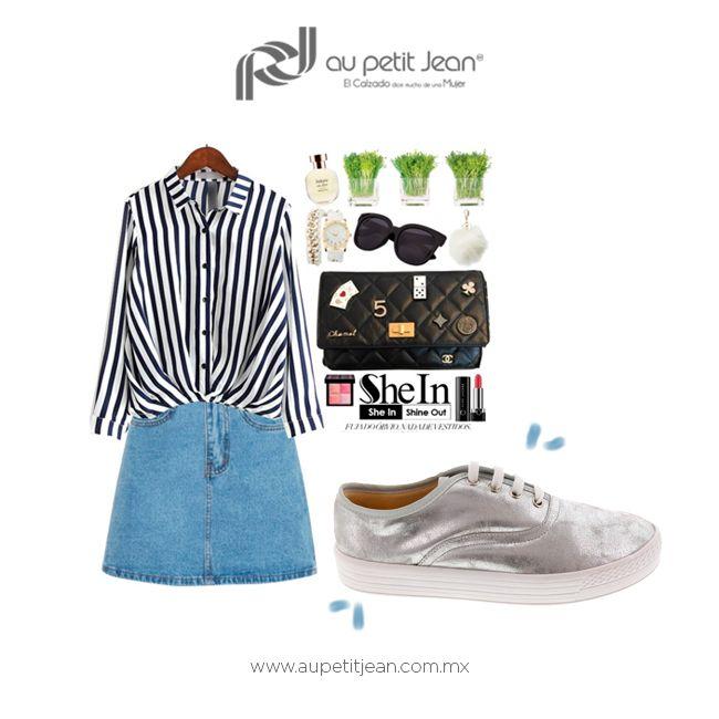 Cómoda y fresca todo el verano con #AuPetitJean ¿Te gusta la combinación?