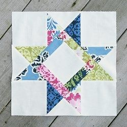 This #quilt block #pattern is called the Bright Hopes Star Block because its center square is a traditional bright hopes quilt block. Learn how to avoid using tricky Y-seams in most bright hopes blocks with this tutorial, and then incorporate these creative star quilt blocks into your next star quilt.
