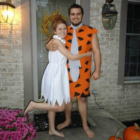 Fred and Wilma Flintstones Costumes