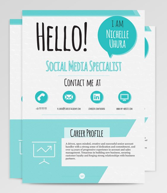 112 best Resumes images on Pinterest | Resume ideas, Resume cv and ...