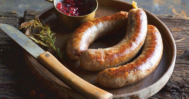 Venison, Pork & Cranberry Sausages