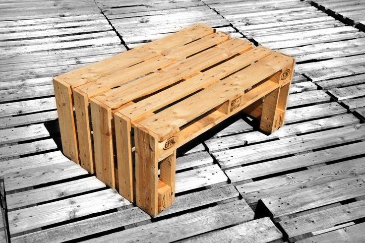 PALETTENMOEBEL ||| #3 Der Tisch Pepi