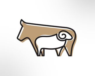 Abduzeedo Logo Design: Sheeps