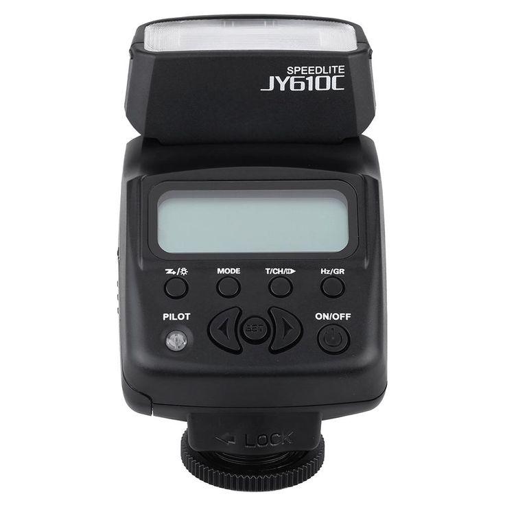 Original VILTROX JY-610C Photography Equipment Mini LCD TTL Flash Speedlite Strobe Lights Flash Triggers Infrared for Canon Flash Strobe Lights Flash Triggers Infrared Online with $41.15/Set on Hellenhe2016's Store | DHgate.com