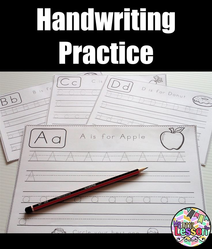 This Handwriting Book is the perfect way to practice uppercase and lowercase letter formation with students. It includes one page for each letter of the alphabet.  Please click on the pin to view the full resource.