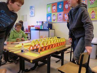 Hanzeblog: Workshop: Brug bouwen met basisschool De Achterberg