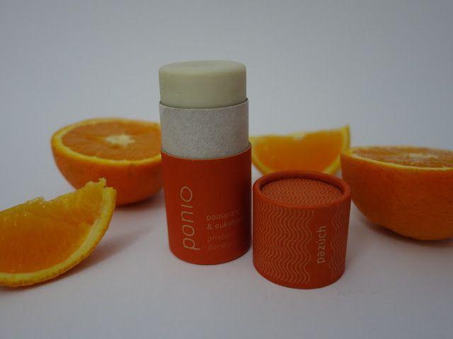 All my cosmetics: Přírodní pomerančový deodorant Ponio