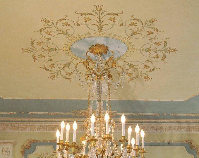 Frontera De Versalles Elegante La Plantilla Plantilla De