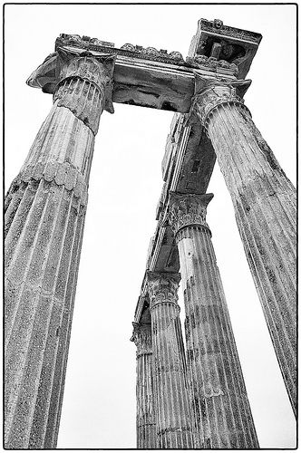 Side Türkei - Der Tempel von Apollon