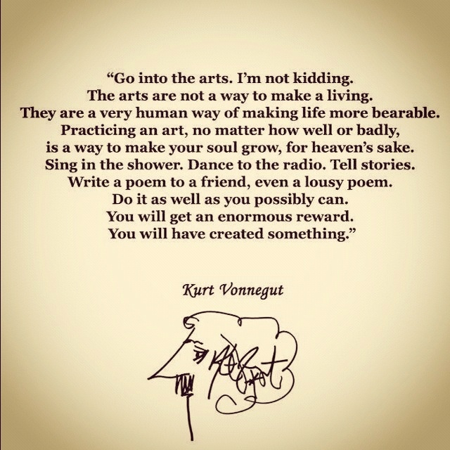 Arts: Kurtvonnegut, L Art, Arts Kurt