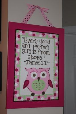 to go with kids owl theme room