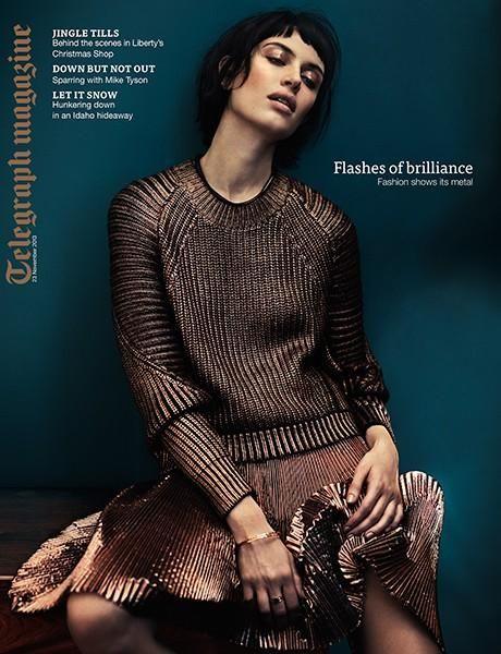 Sabrina IoffredaTelegraph Magazine United Kingdom November 2015 Magazine Cover