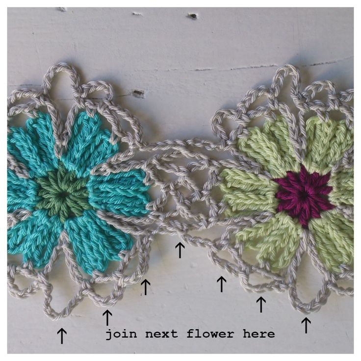 Atty's: Catona Flower Pattern Shawl / Tutorial
