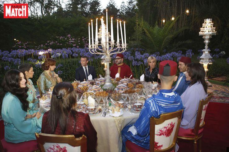 La princesse Lalla Salma était ce mercredi aux côtés de son époux le roi Mohammed VI du Maroc pour recevoir le président français Emmanuel Macron et s...