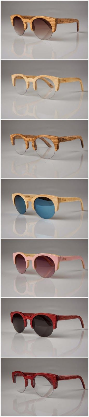 Woodys Barcelona, Gafas de madera, Wood sunglasses, Montura de madera: Hiroto 0.33 el modelo de Blanca Suárez