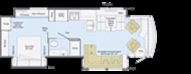 2016 New Winnebago Journey 42E Class A in Indiana IN.Recreational Vehicle, rv, 2016 Winnebago Journey42E, 100 Watt Solar Panel, Air Sleep System - Adjustable King, Exterior Ent. Ctr w/32-inch LED TV, FRTL 44, 8.9L 6 SPD, Harvest Night Full Body Paint, Ladder Exterior, Ottomans (2), Range w/Large Oven, Refrigerator/Freezer, Satellite HD TV System, Splendor/Taupe, Tankless Water Heater, Washer & Dryer Set,